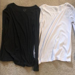Two old navy long sleeve shirts